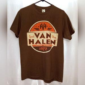 Men's Medium Van Halen World Tour Graphic Band Tee